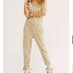 ⭐️Free People higher ground jumpsuit